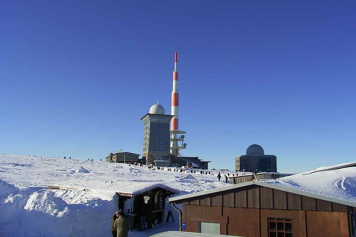 Brocken im Winter Harz