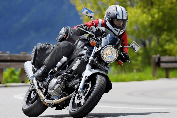 Motorradfahren im Harz