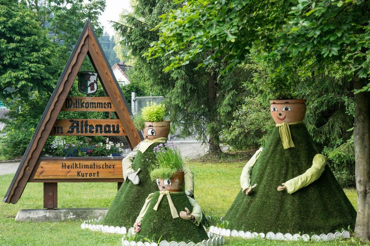 Kräuterfiguren in Altenau