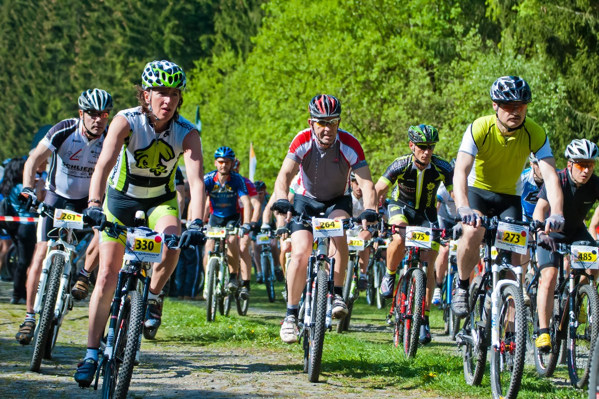 Mountainbike Wettkampf im Oberharz