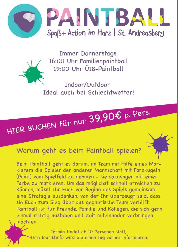 Paintball Oberharz