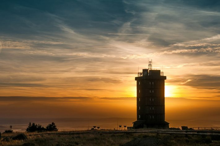 Brocken im Harz Nationalpark