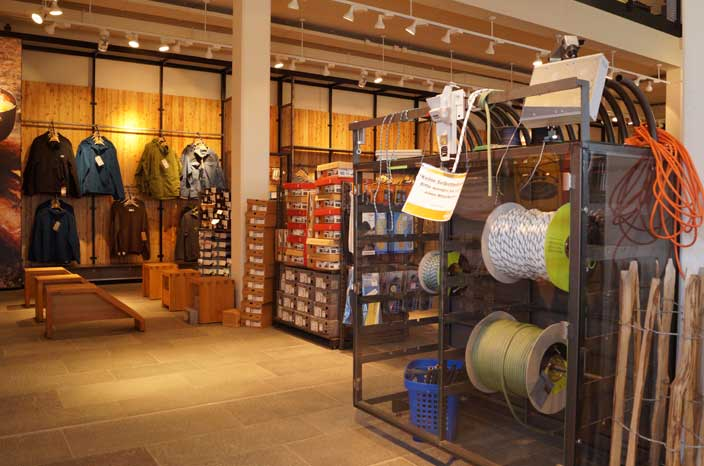 Globetrotter Active Store in Torfhaus im Oberharz