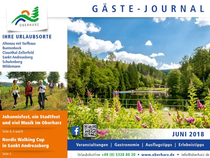 Gästejournal Juni 2018