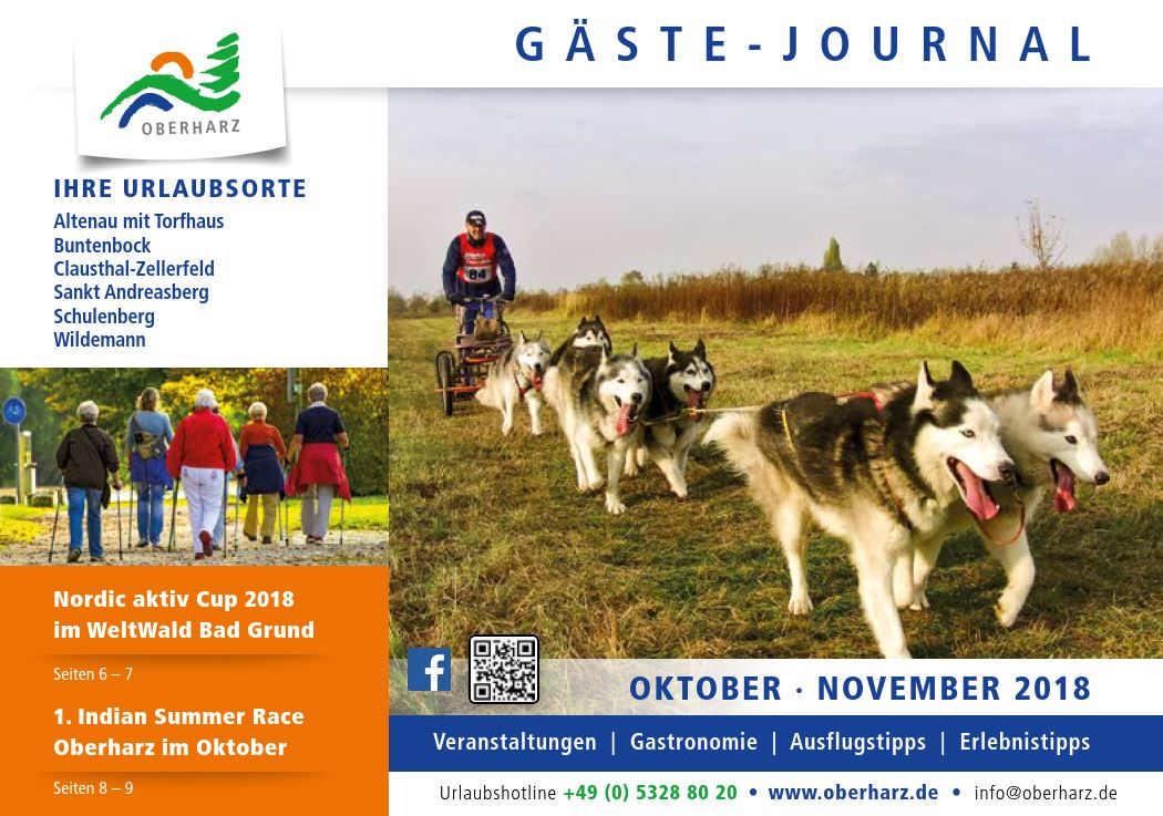 Gästejournal Oktober November 2018