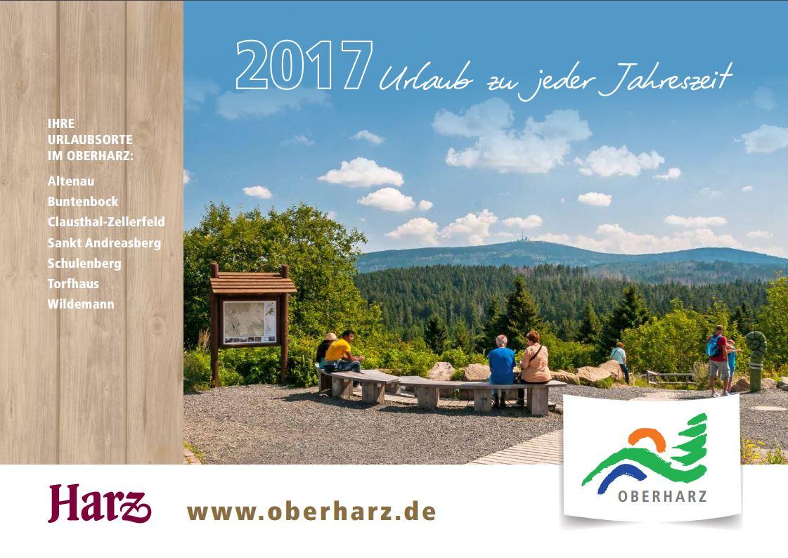 Urlaubsmagazin Oberharz 2017