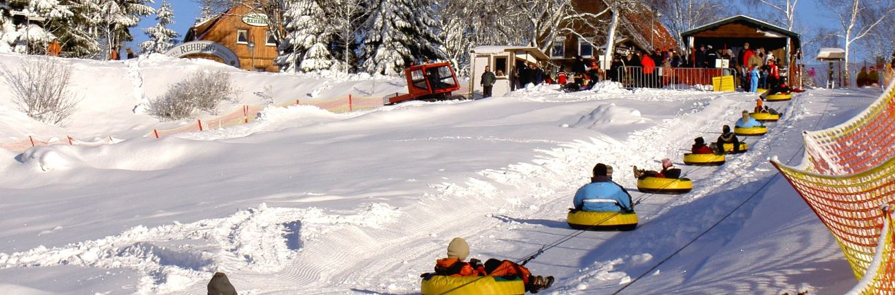 Snowtubing im Harz Teichtal