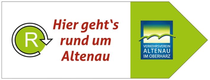 Altenauer Runde Hinweisschild