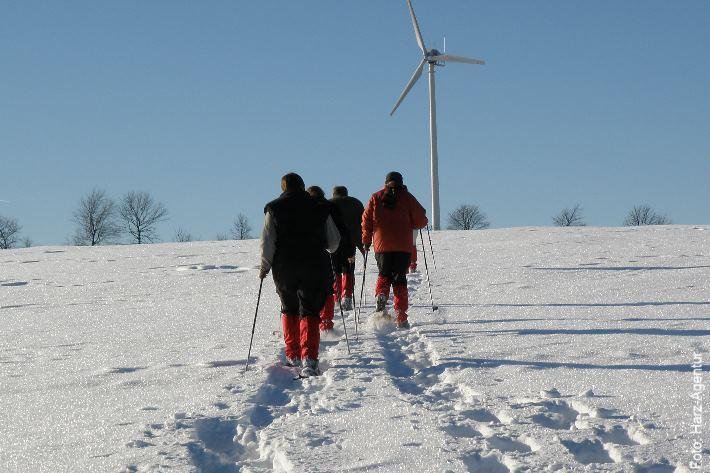 Schneeschuhe Harz