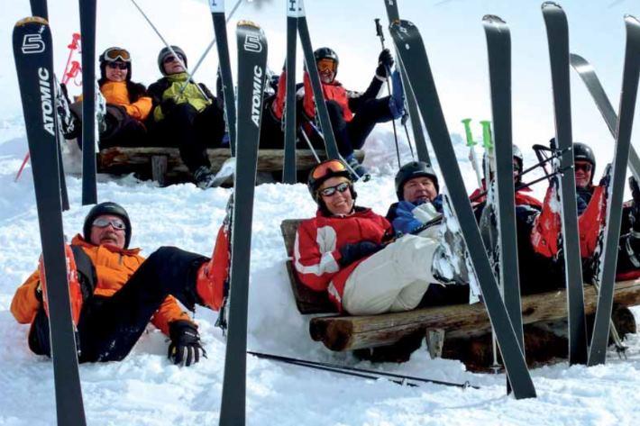 Skifahren im Harz