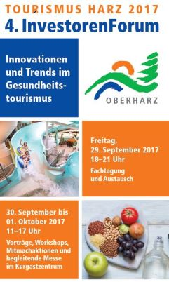 Programmflyer InvestorenForum Harz