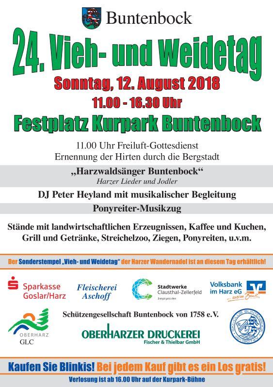 Vieh-und Wiedetag Buntenbock 2018