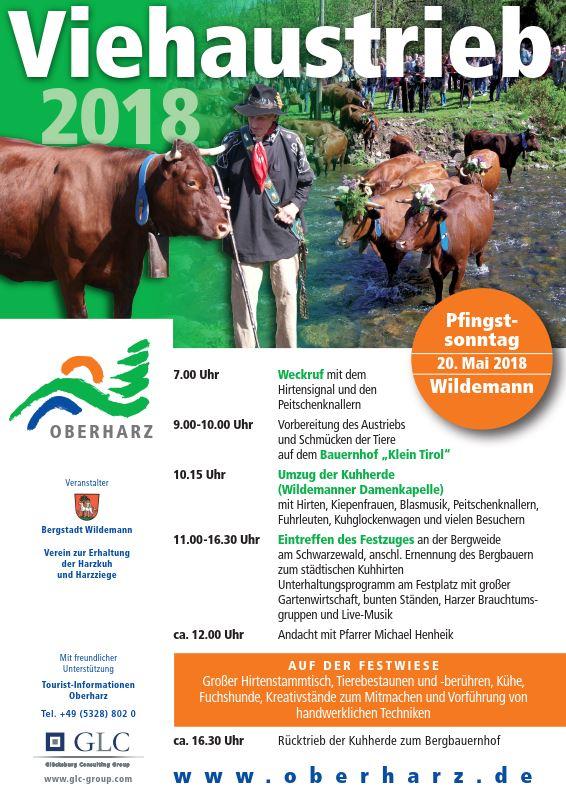 Viehaustrieb Wildemann 2018