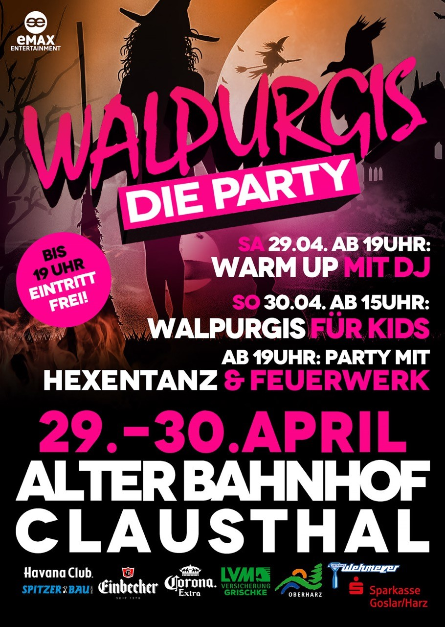 Walpurgis Party in Clausthal-Zellerfeld